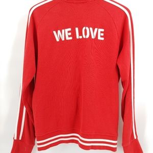 vintage We Love track jacket large